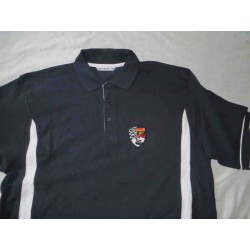 Polo homme - Black Red