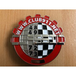 Badge métallique  CLASSIC Club911.net
