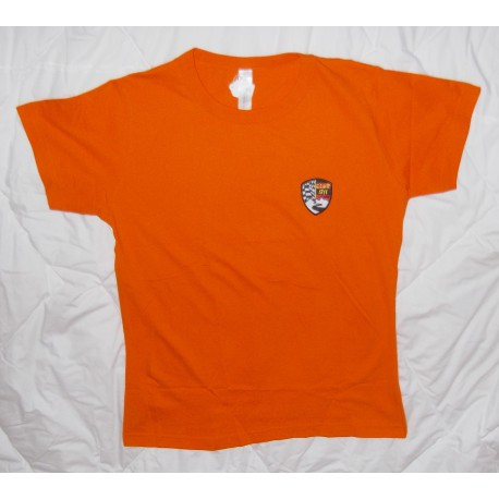 T-shirt femme col rond