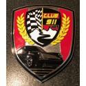 """Nouveau badge métal """"Club911.net"""" 2019"""